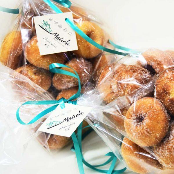 Paquete de rosquillas con toque de limón